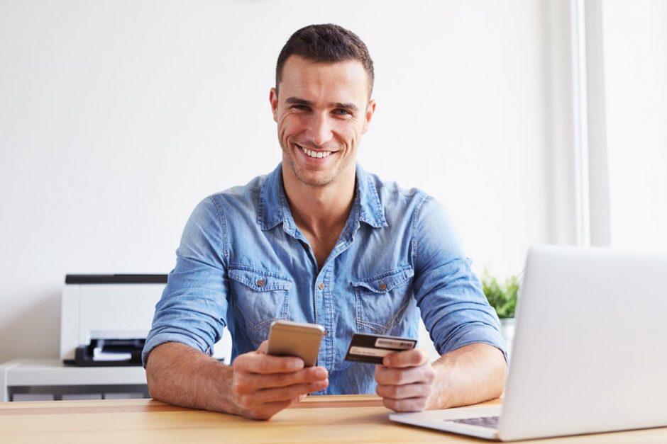 Mit der Kreditkarte sicher im Internet einkaufen