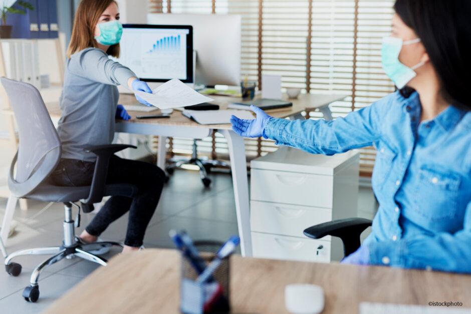 Die wichtigsten Coronaregeln am Arbeitsplatz
